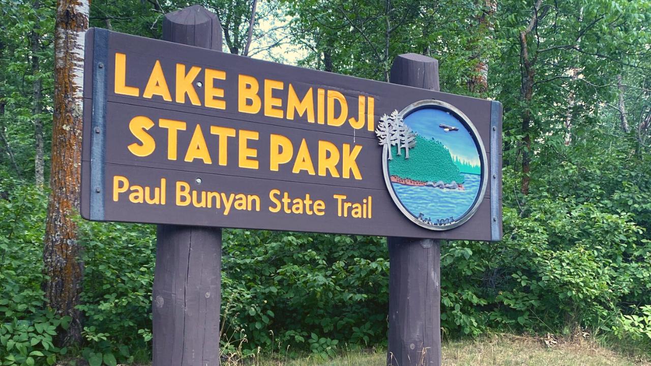 lake-bemidji-state-park-entrance-sign