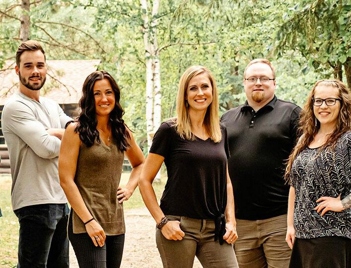 Evolve Team Outdoor Branding