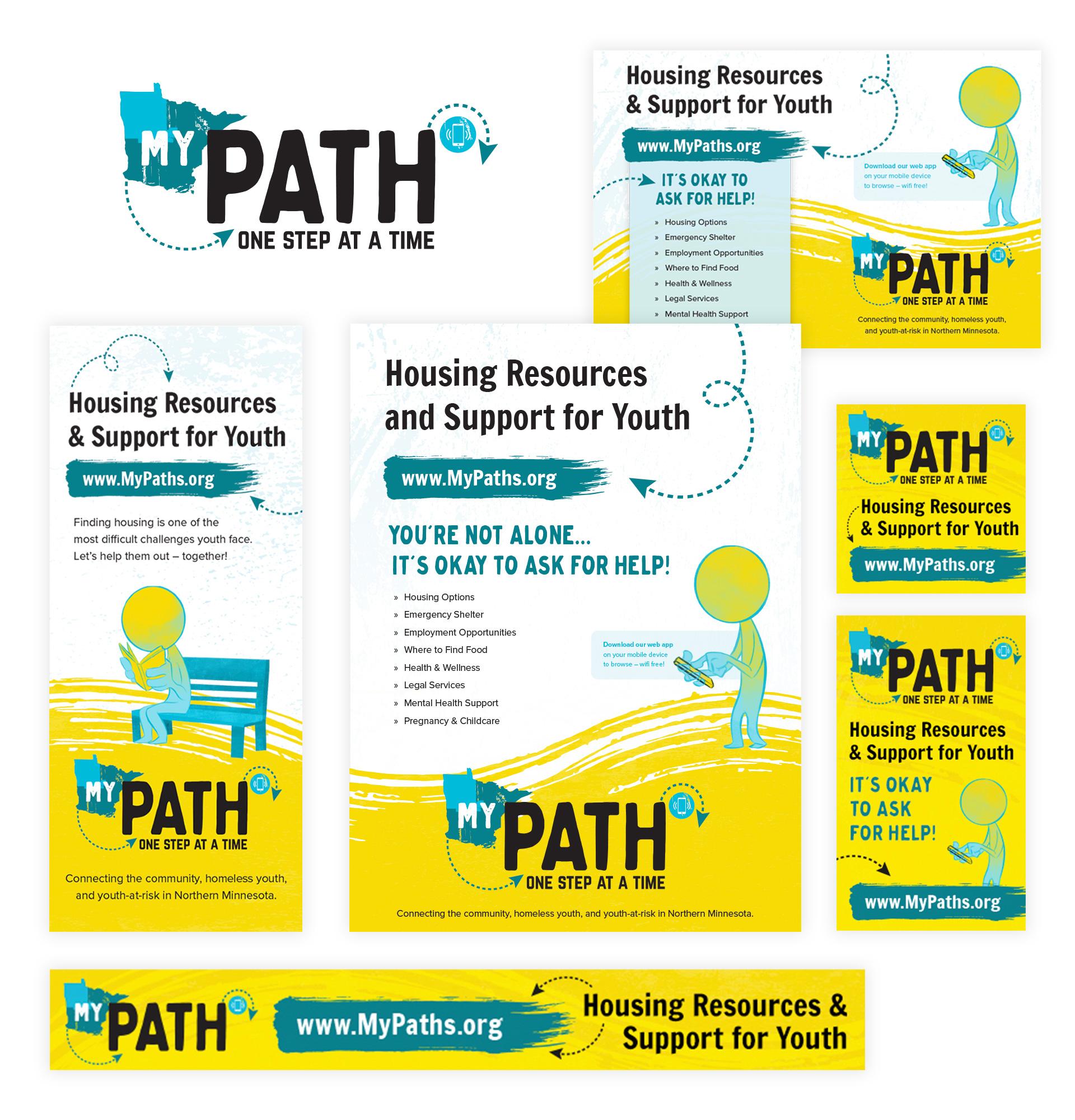 MyPath Logo Marketing Materials