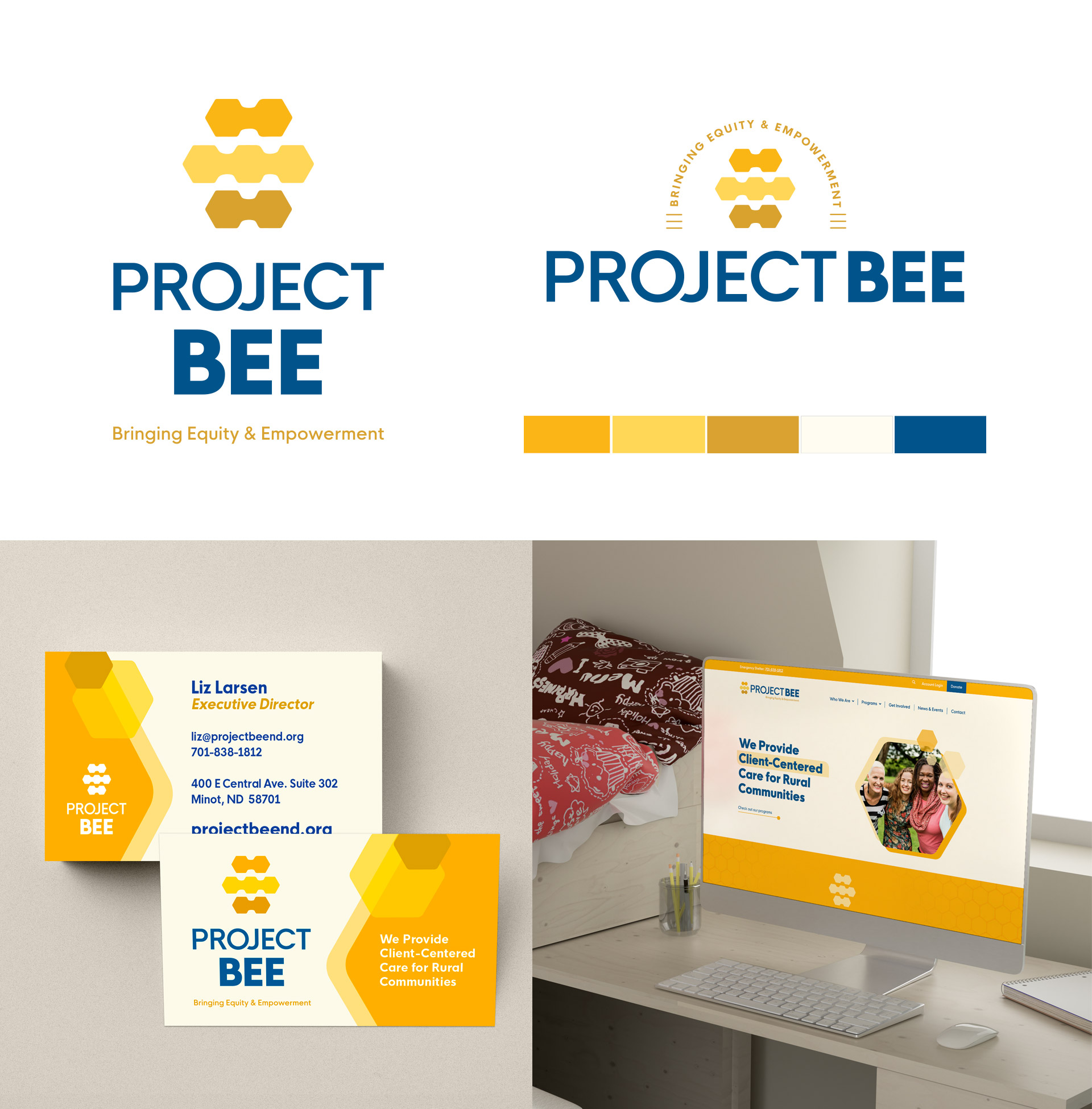 Project BEE Nonprofit designs