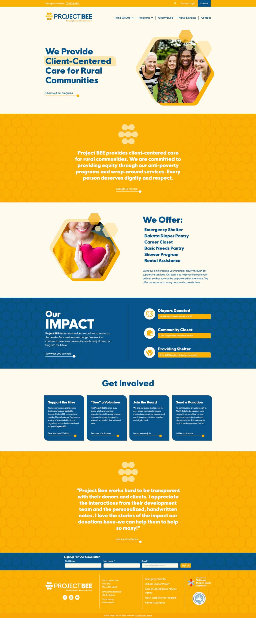 Project BEE Website
