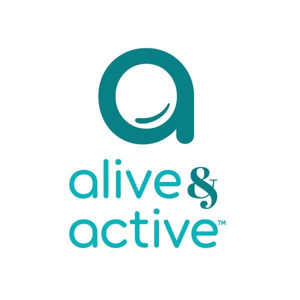 Alive & Active logo design