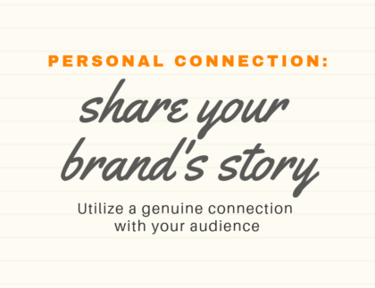 your brand story