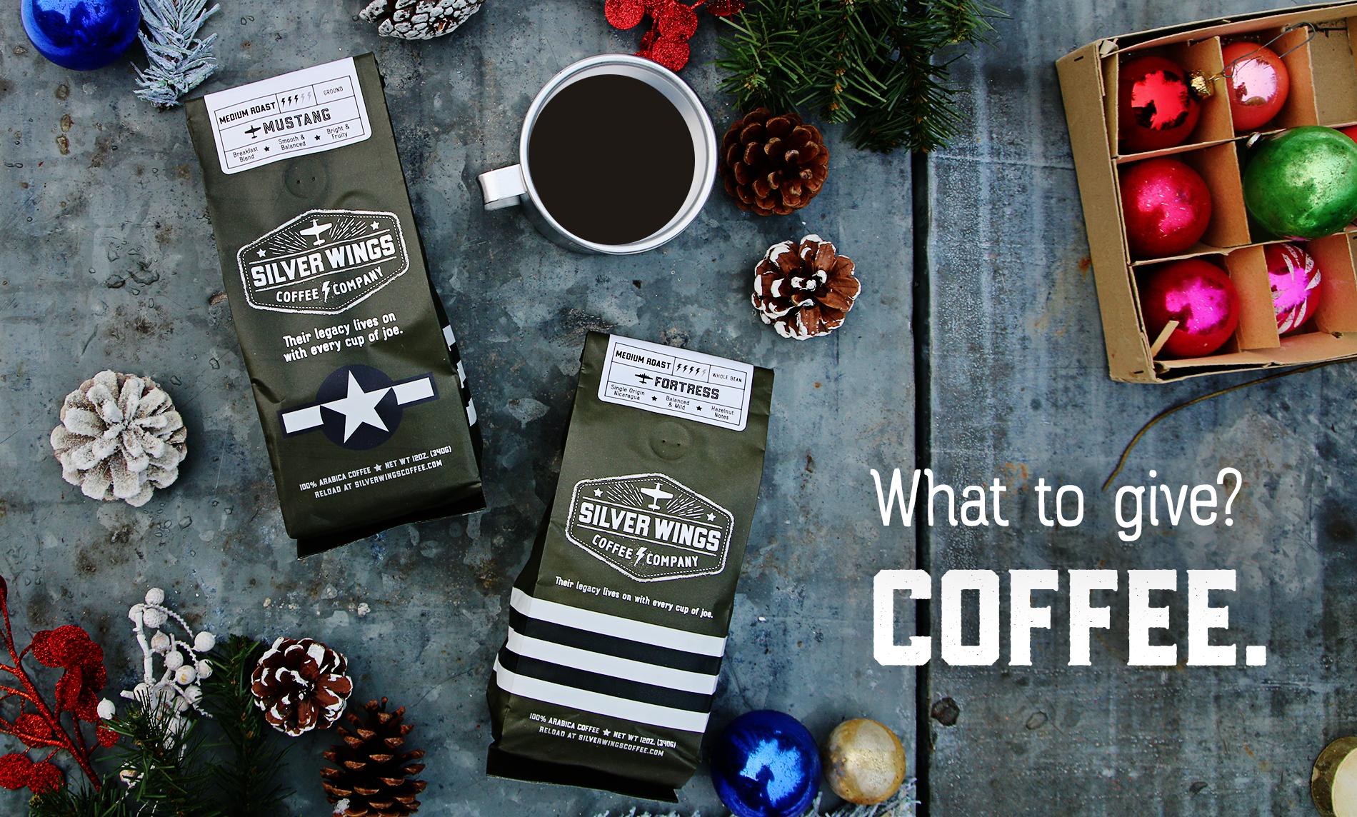 Christmas coffee ad