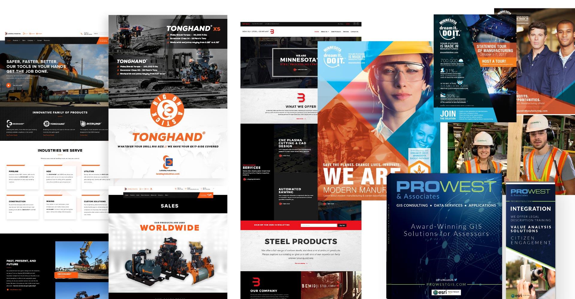 industrial marketing designs