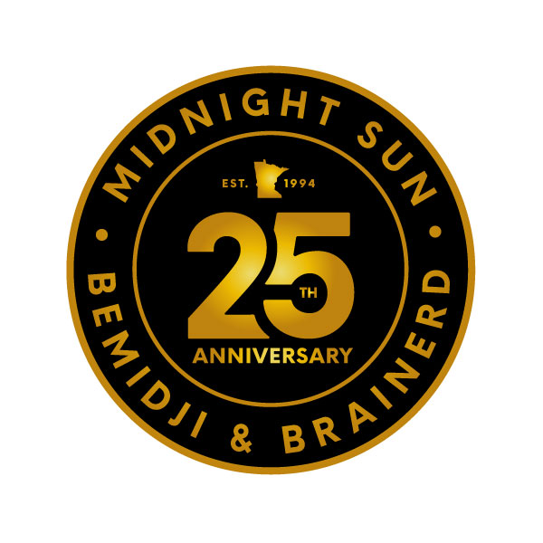 Midnight Sun Logo Badge