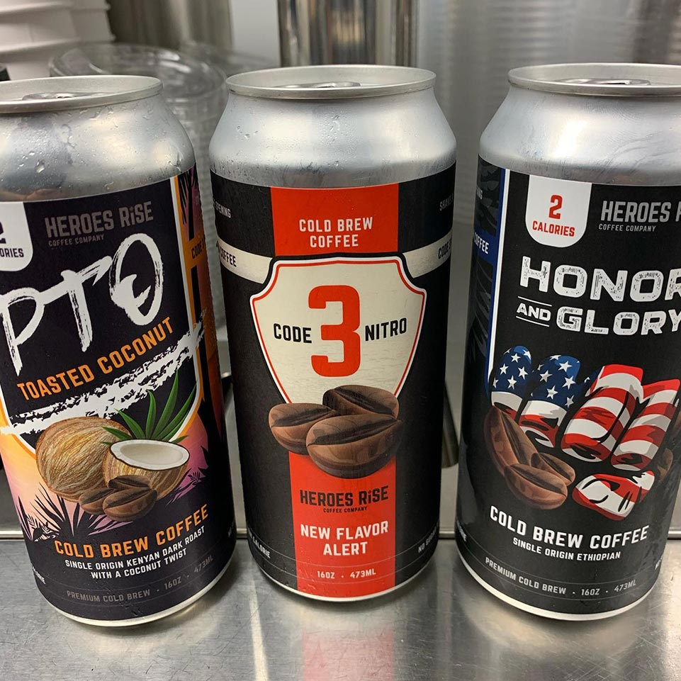 Nitro coffee can design